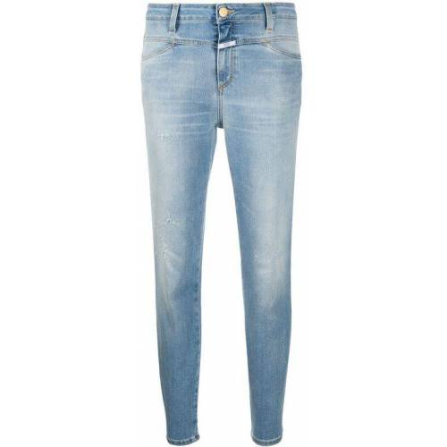 Closed Taillenhohe Cropped-Jeans