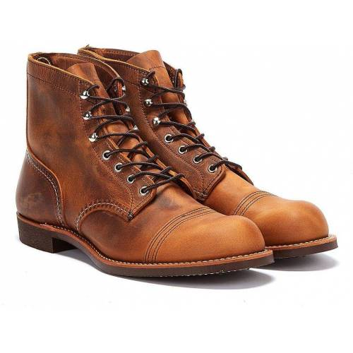 Red Wing Red Wing Iron Ranger Copper Stiefel