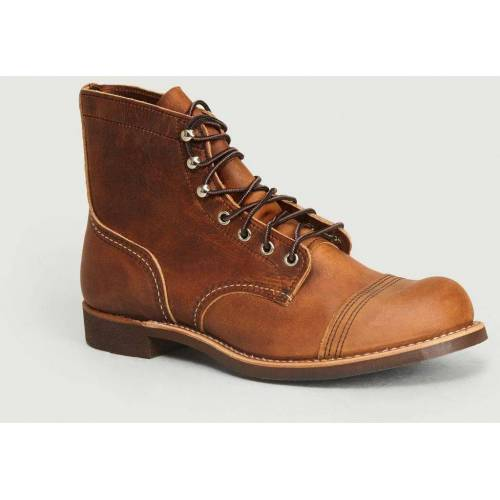 Red Wing Iron Ranger Copper Rough Tough Boots