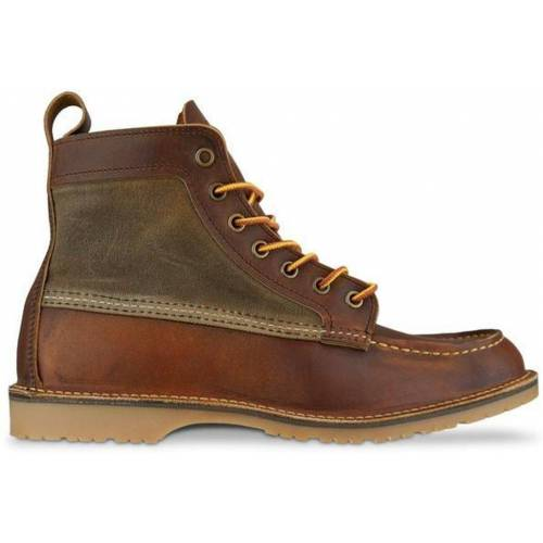 Red Wing 3335 Wacouta Canvas Moc Stiefel Kupfer