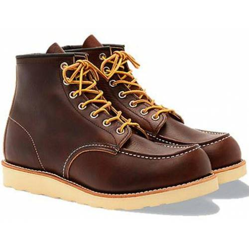 Red Wing Brauner Moc Toe 8138 Stiefel