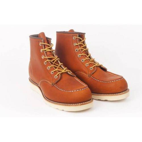 Red Wing Redwing 6 Classic Mock Toe 0875 Stiefel Oro Vermächtnis