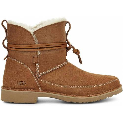 Ugg Esther Stiefel aus Veloursleder