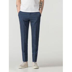 Ben Sherman Main Line Summer Blue Fleck Camden Fit Trouser 32R Blue