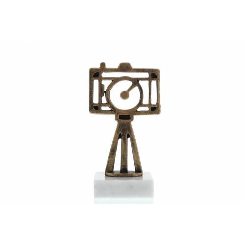 Helm Trophy Konturfigur Kamera 14,5cm