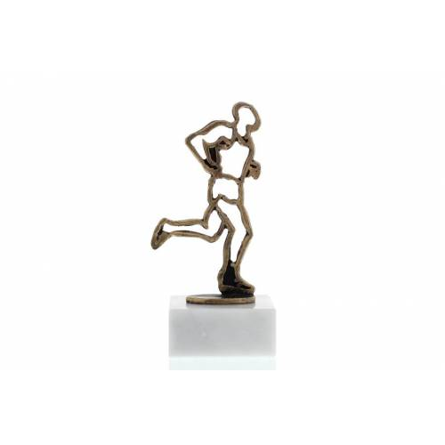 Helm Trophy Konturfigur Läufer 15,5cm