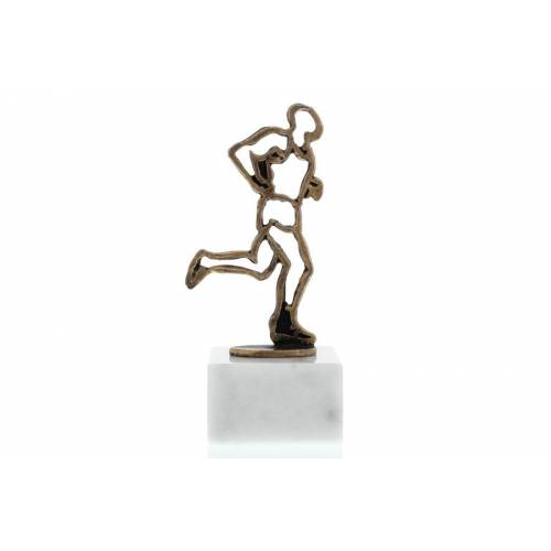 Helm Trophy Konturfigur Läufer 16,5cm
