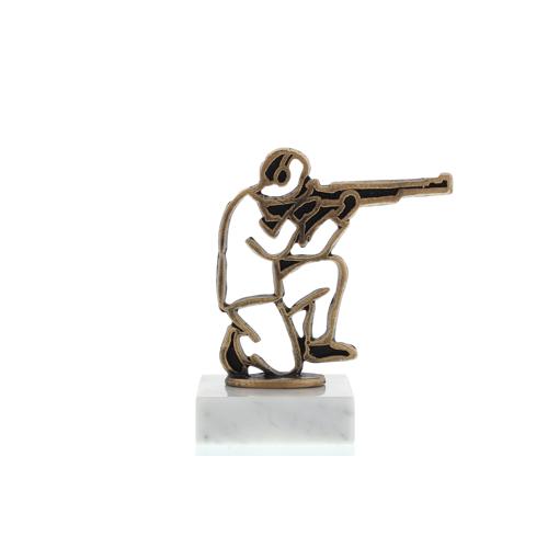 Helm Trophy Konturfigur Schütze 12,0cm
