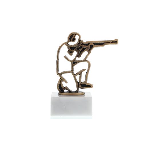 Helm Trophy Konturfigur Schütze 13,0cm