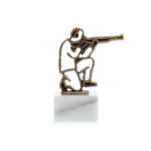 Helm Trophy Konturfigur Schütze 14,0cm