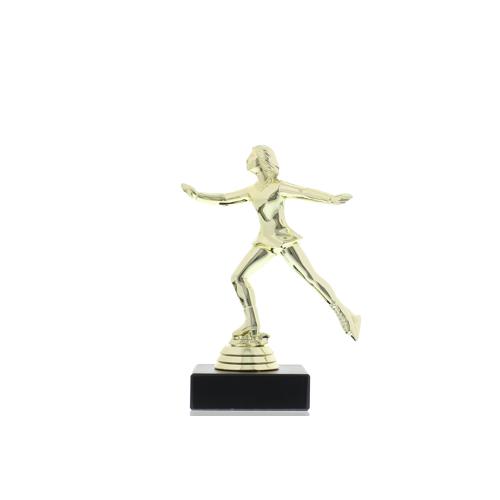 Helm Trophy Kunststofffigur Eiskunstläuferin 14,5 cm