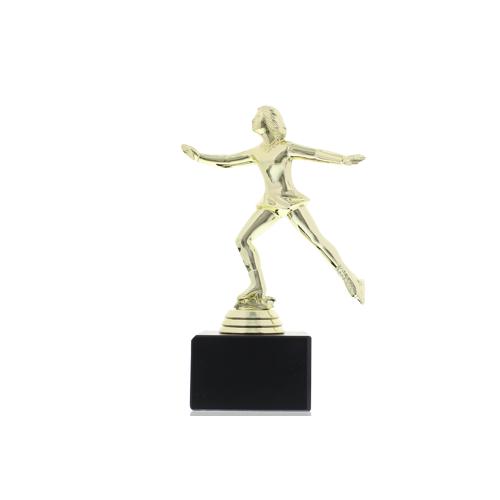Helm Trophy Kunststofffigur Eiskunstläuferin 16,5 cm