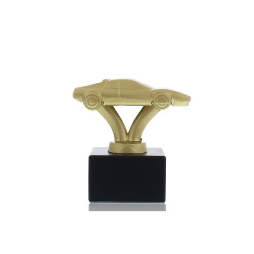 Helm Trophy Metallfigur Auto 10,5cm