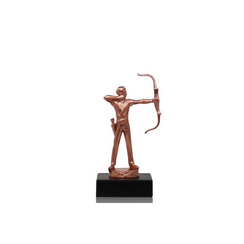 Helm Trophy Metallfigur Bogenschütze 14,0cm