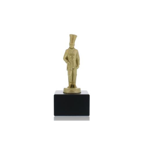 Helm Trophy Metallfigur Koch 16,0cm