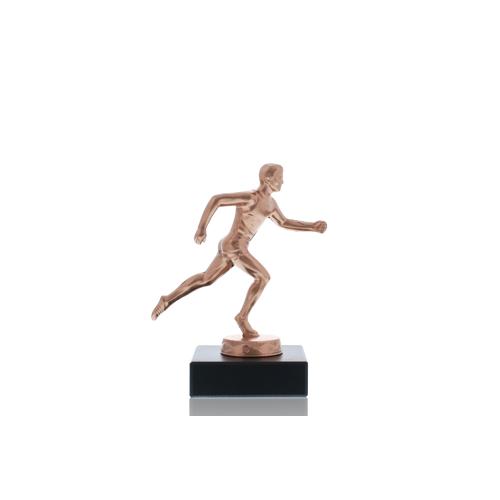 Helm Trophy Metallfigur Läufer 12,0cm