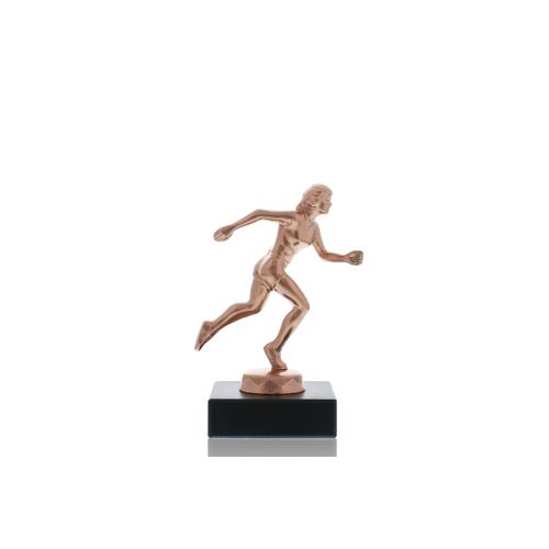 Helm Trophy Metallfigur Läuferin 12,0cm