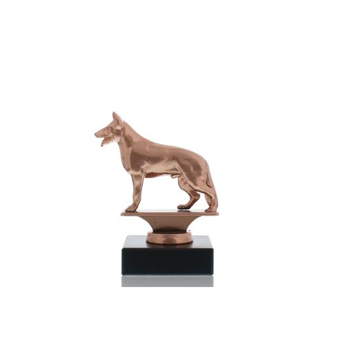 Helm Trophy Metallfigur Schäferhund 11,5cm