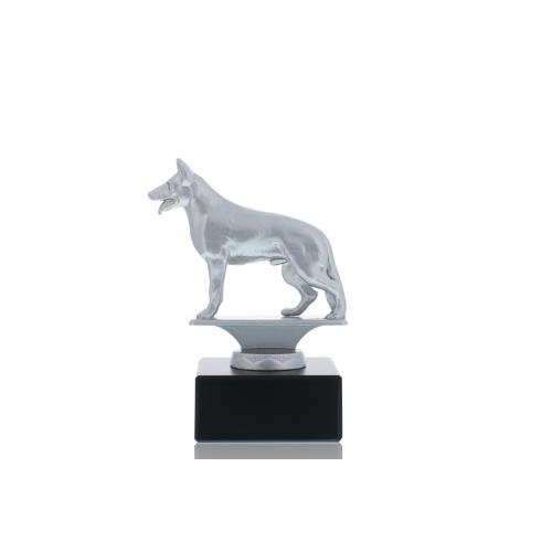 Helm Trophy Metallfigur Schäferhund 12,5cm