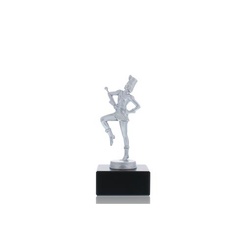 Helm Trophy Metallfigur Tanzmariechen 14,5cm