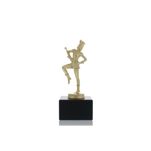 Helm Trophy Metallfigur Tanzmariechen 15,5cm