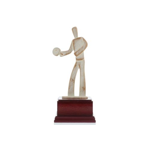 Helm Trophy Modernefigur Tischtennis 23,5cm