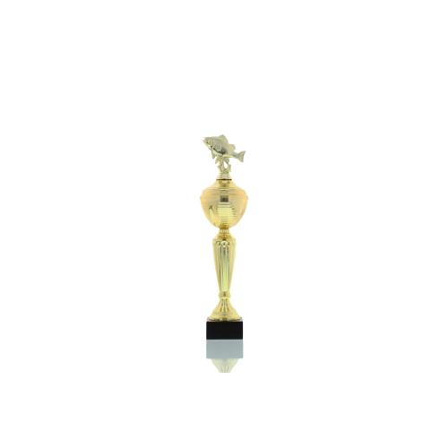 Helm Trophy Pokal Camilla - Angeln Flussbarsch 34,5cm