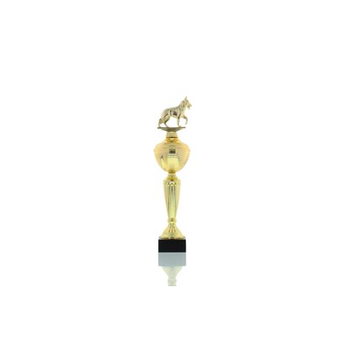 Helm Trophy Pokal Camilla - Hunde Schäferhund 35,0cm