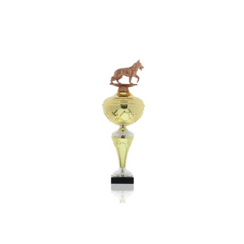 Helm Trophy Pokal Hans - Hunde Schäferhund 35,5cm