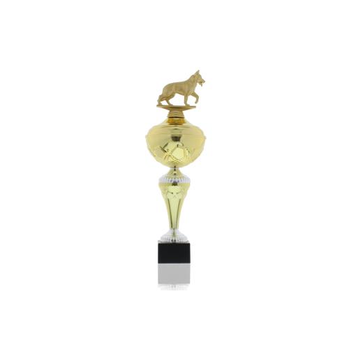 Helm Trophy Pokal Hans - Hunde Schäferhund 37,5cm