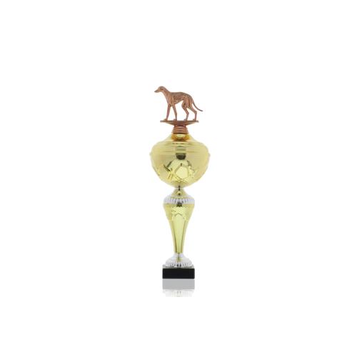 Helm Trophy Pokal Hans - Hunde Windhund 35,0cm