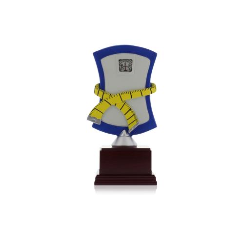 Helm Trophy Resinfigur Waage in Größe 20,0cm