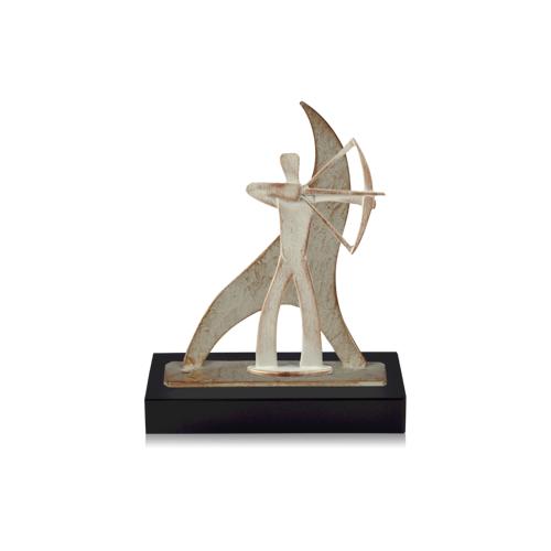 Helm Trophy Zamakfigur Flame Bogenschütze 27,0cm