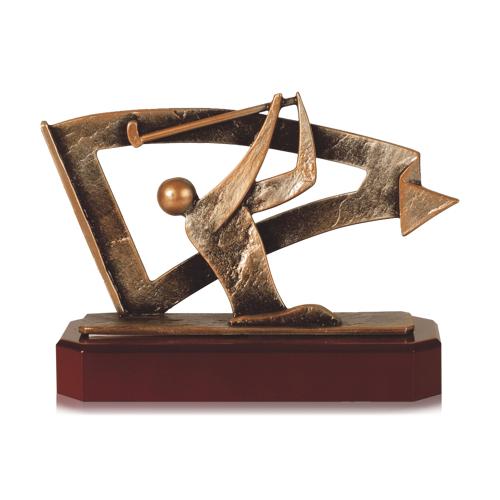 Helm Trophy Zamakfigur Golfspieler 16,5cm