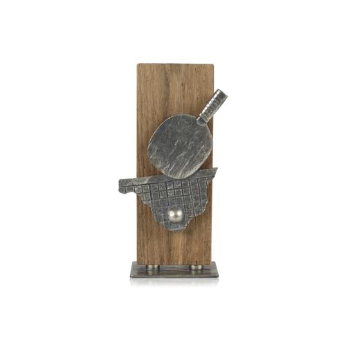 Helm Trophy Zamakfigur Tischtennis 25,0cm