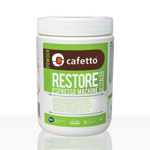 Cafetto restore Entkalker 1kg Pulver, biologisch abbaubar