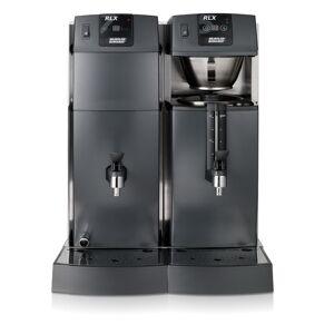 Bonamat Büffet Kaffeemaschine RLX 75 mit 1 Brühsystem, 1 Behälter mit Schauglas und Heißwasser 230V