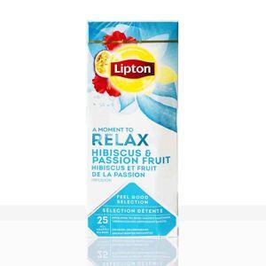 Lipton Tee Classic Relax Hibiskus-Passionsfrucht 25 x 1,6g