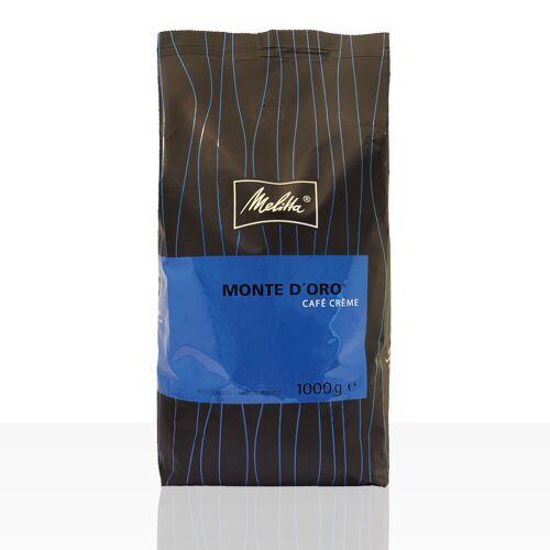 Melitta Monte D'Oro Cafe Creme - 1kg ganze Kaffee-Bohne