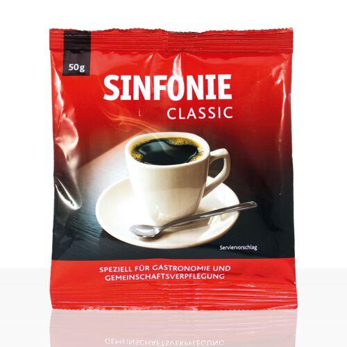 Jacobs Sinfonie Classic Gastronomie - 60 x 50g HY Kaffee gemahlen, Filterkaffee