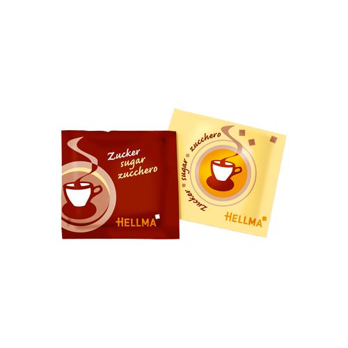 Hellma Zuckertüten 1000 x 3,6g Sachet, Portions-Zucker