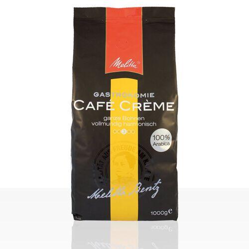 Melitta Gastronomie Café Crème 100% Arabica - 8 x 1kg ganze Kaffee-Bohne