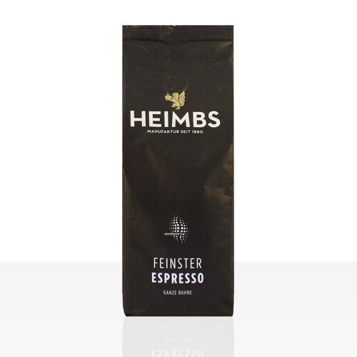 Heimbs Kaffee Heimbs feinster Espresso - 12 x 500g ganze Kaffee-Bohne