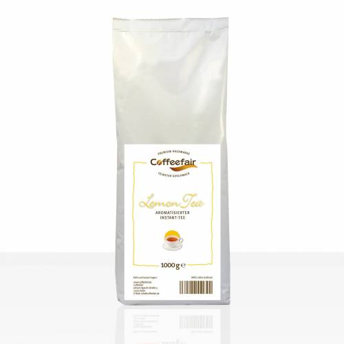 Coffeefair Lemon-Tea 10 x 1kg Instant-Zitronentee, Tee-Pulver