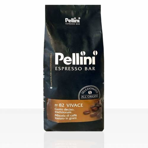 PELLINI CAFFÈ S.p.A.SEDE LEGALE E AMM Pellini Espresso Bar N° 82 Vivace 6 x 1kg Kaffee ganze Bohne