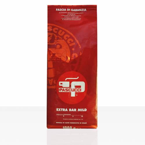 Torrefazione Caffe Pascucci S.p.A. PASCUCCI Extra Bar Mild Espresso 8 x 1kg Kaffee ganze Bohne
