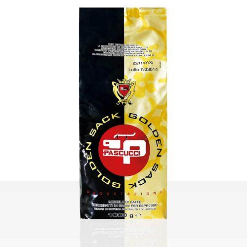 Torrefazione Caffe Pascucci S.p.A. PASCUCCI Caffe Gold Espresso 8 x 1kg Kaffee ganze Bohne, 100% Arabica