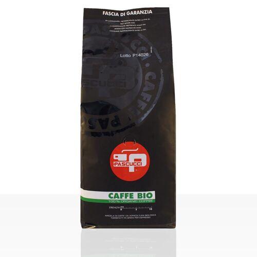 Torrefazione Caffe Pascucci S.p.A. PASCUCCI Caffe BIO Espresso 1kg Espressobohnen, 100% Arabica
