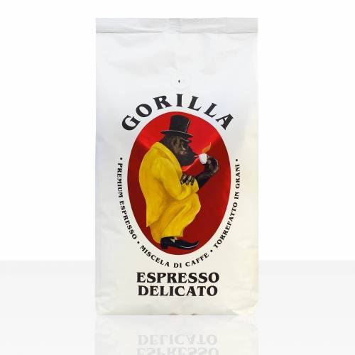 Joerges Gorilla Espresso Delicato 12 x 1kg Kaffee ganze Bohne