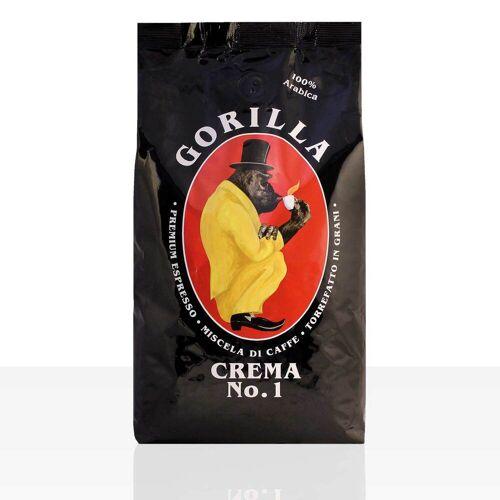 Joerges Gorilla Espresso Crema N° 1 Kaffee 12 x 1kg ganze Bohne